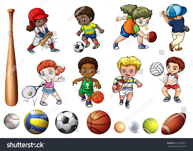 stock-vector-children-playing-ball-related-sports-illustration-316289612