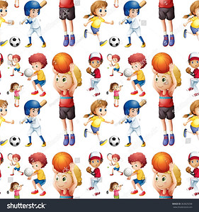 stock-vector-seamless-children-playing-sports-illustration-363829298