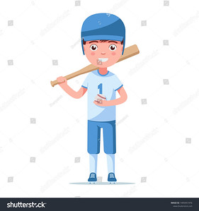 stock-vector-boy-baseball-player-is-in-a-sports-uniform-in-a-helmet-with-a-bat-and-ball-little-child-is-1495951976