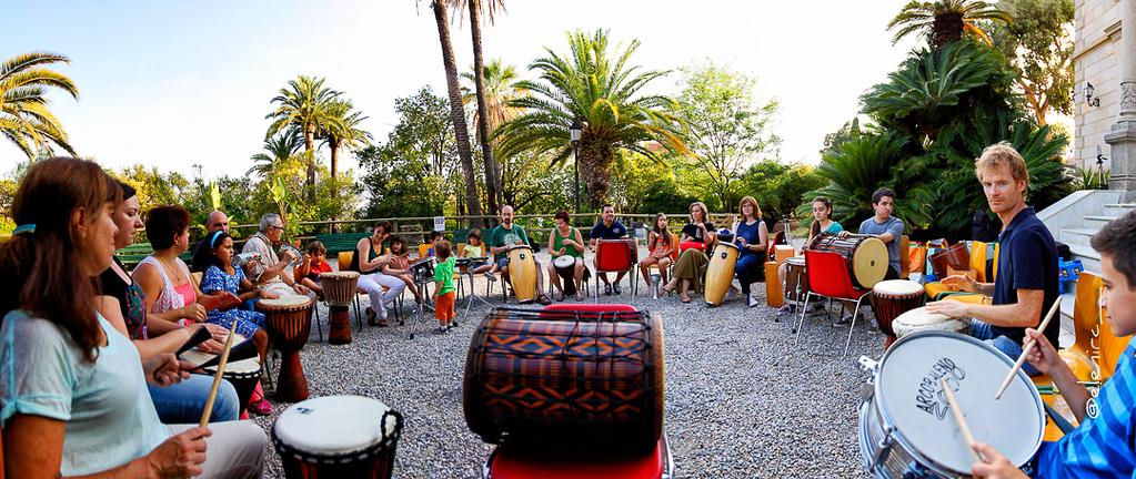 Cercles de percussió amb Pau Gimeno por Elena Rubio para elenircfotografia