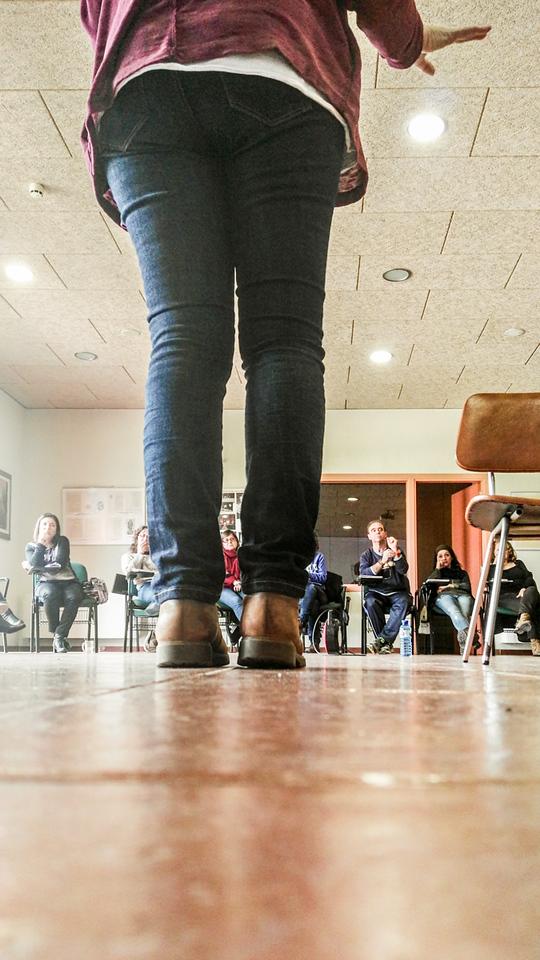 Surcos de El foco hacia mi de Inma Merino por Elena Rubio de elenircfotografia