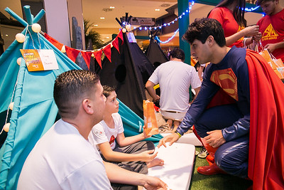 Acampando com o Papai no Minas Shopping - 12.08