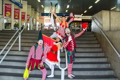 Chegada do Papai Noel Minas Shopping 2017