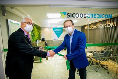 Inauguração Agência Sicoob Credicom