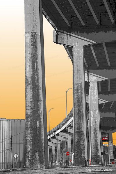Under the Harbor bridge