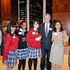 Corpus Christi School faculty and students with Dr McNiff