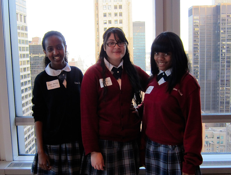 Corpus Christi School students