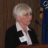 Eleanor McGee, Chair,Corpus Christi School Advisory Board, welcomes the group.