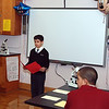 "Frank Guillen, a seventh grader, reads ""Information"" by David Ignatow"