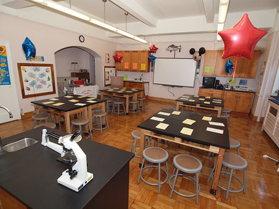 Corpus Christi School Disney Science Lab Dedication