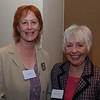 Meg Riley and Eleanor McGee (member of CC School Advisory Board)