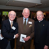 Fr Leo O'Donovan S.J., Chairman of the Corpus Christi School Advisory Board, with guests