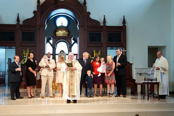 2017 June 11 Corpus Christi including baptisms