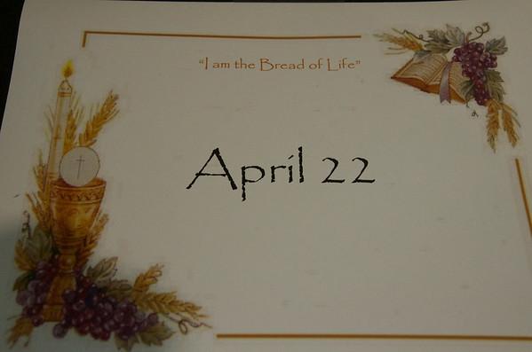 2018 April 22 First Communion Corpus Christi Parish