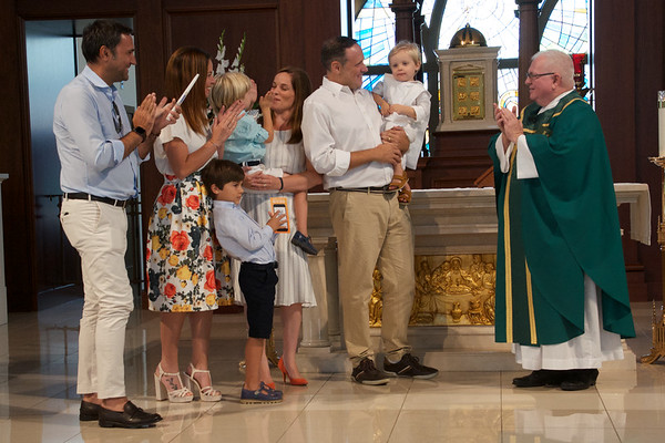 2018 Aug 19  Corpus Christi Daniel's Baptism