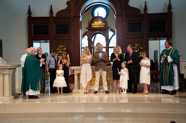 2018 Feb 4 Baptisms & Renew Marriage Vows