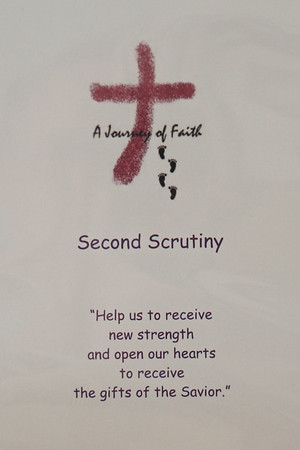 2018 March 11 RCIA Second Scrutiny Corpus Christi Church