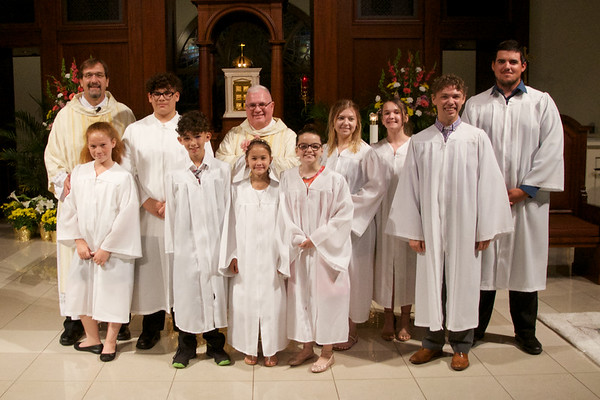 2018 March 31 Easter Vigil  Mass Corpus Christi Catholic Church