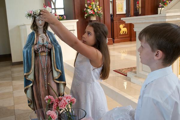 2018 May 13:  May Crowning at Corpus Christi