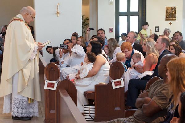 2018 May 27 Corpus Christi 10:30 am Mass and Baptisms