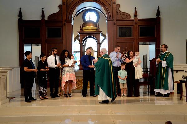 2018 Sep 9 Corpus Christi Baptisms