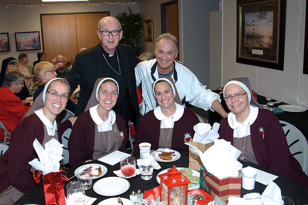 Christmas Party for Diocese Nuns Dec. 2016
