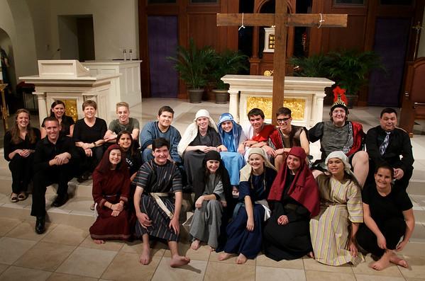 Corpus Christi Parish Youth Present The  Living Passion