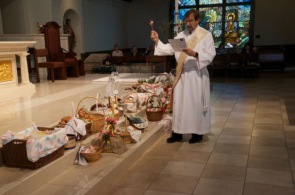 Holy Saturday 2018 Blessing of Easter Baskets