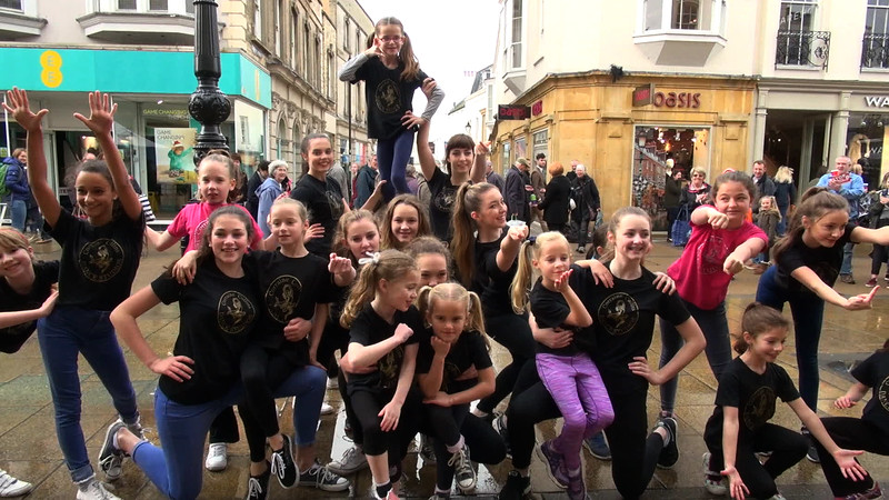 Corraince Collins Dance Studios 'Flash Mob'