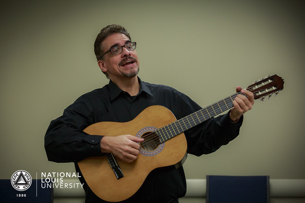 Corridos - Mexican tragic ballad songwriting workshop | January 27, 2016 | North Shore Campus