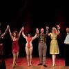 Cast of Magic and Mayhem Burlesque cabaret act