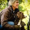 woodland dog walk photography