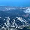 Marble quarry over Massa