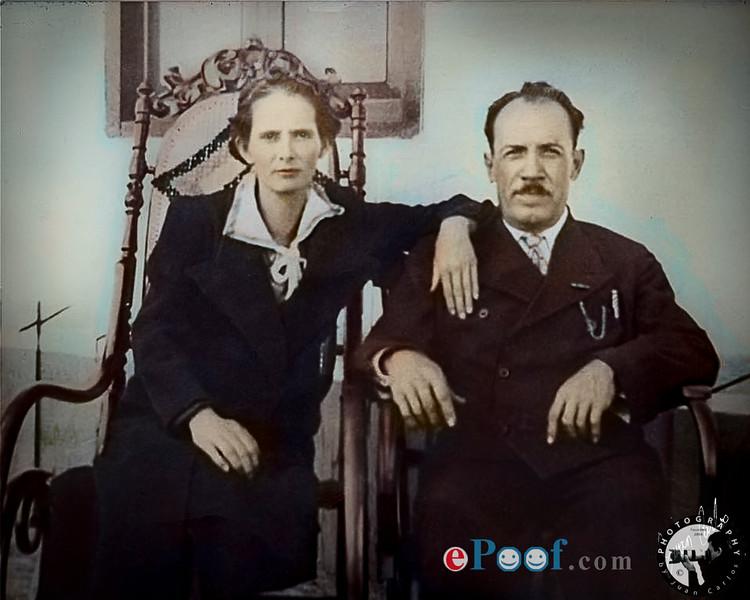 Papa Facundo y Mama Maria Arias