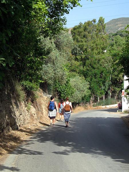 Orgiva: the walk there