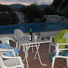 The pool abandonned on the last night in 2008