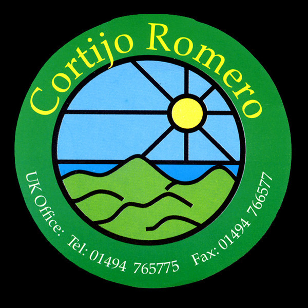 "<a href=""http://www.cortijo-romero.co.uk/"" target='_blank""'>Cortijo Romero's</a> bright logo is on their luggage lables"