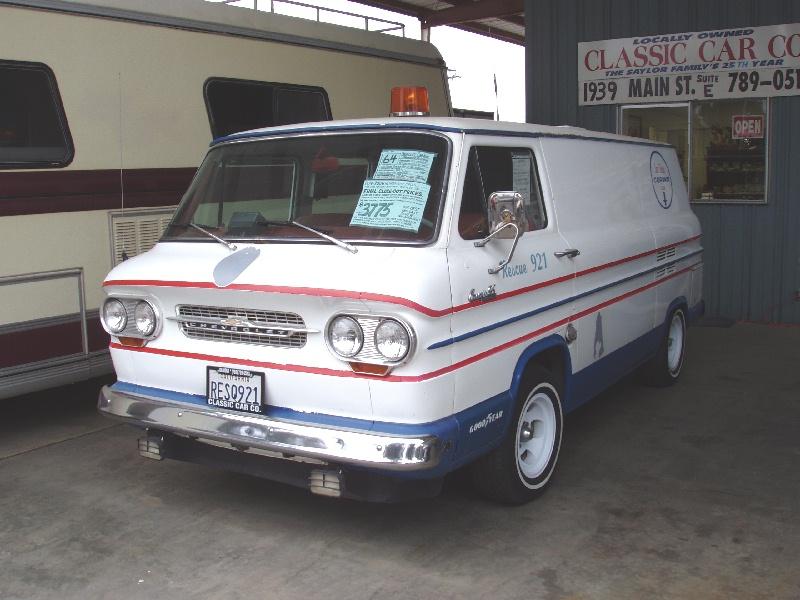 Corvair Parts - Most Wanted List - vintage-vans