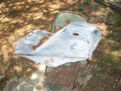 This is what the gas tank looks like from a Corvair Truck or Van.