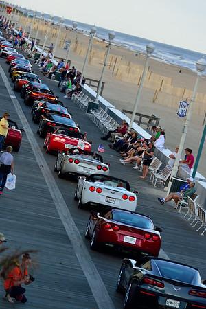 Corvette Parade: Ocean City, MD.