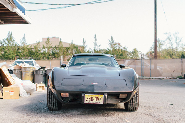 Dusty Corvette