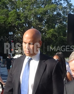 Cory Booker At Capitol Hill In Washington, DC