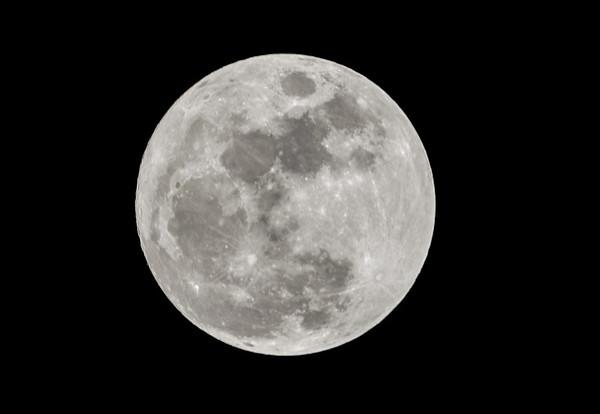 Navidad con luna llena por primera vez desde 1977