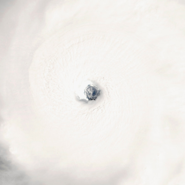 21 Sep 2005 --- Rita, now a Category 5 hurricane, was captured by the MODIS instrument on the Aqua satellite in this image from September 21, 2005. --- Image by © NASA/Corbis