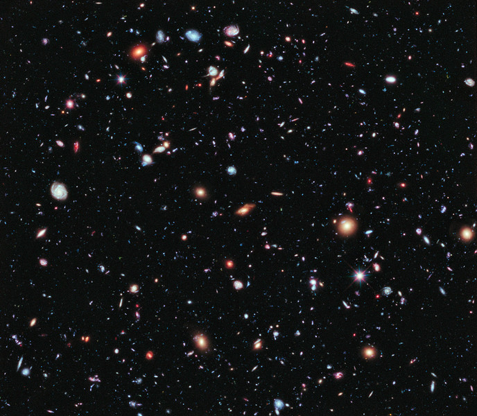 Stars No.  The Hubble eXtreme Deep Field