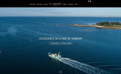Home page site le Kermancy ©Christophe le Potier