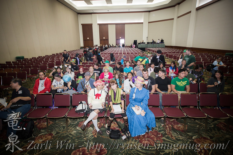 Cosplay Theatre.  The Judges who were NOT victims of traffic.