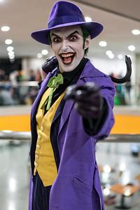 Harley's Joker; Joker; Cosplay; Comic Con; Comic Con 2015