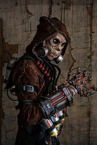 Scarecrow; Arkham; Cosplay; Comic Con; Comic Con 2015