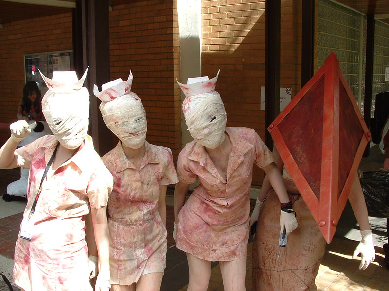Pyramid Head and the Nurses